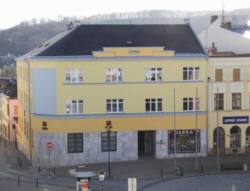 Oprava historické fasády budovy Hranice
