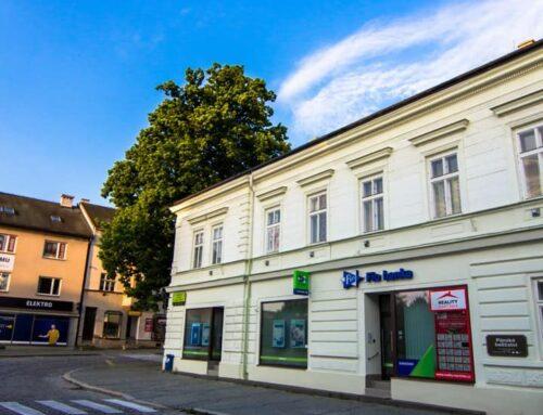 Oprava historické fasády domu Valašské Meziříčí