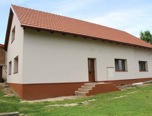 Zateplení rodinného domu Bělotín